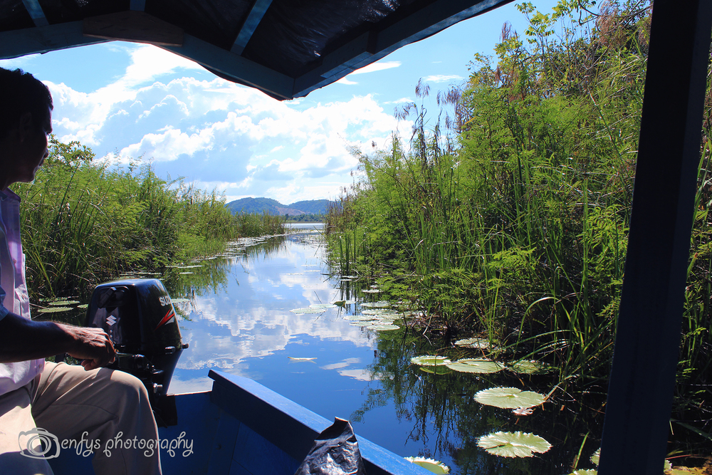 Boating with Ernesto! Lake Peten Itza - Flores, Guatemala