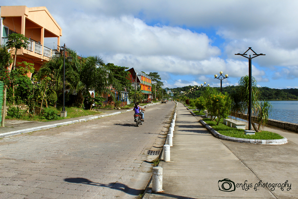 Lakeside street -Flores, Guatemala