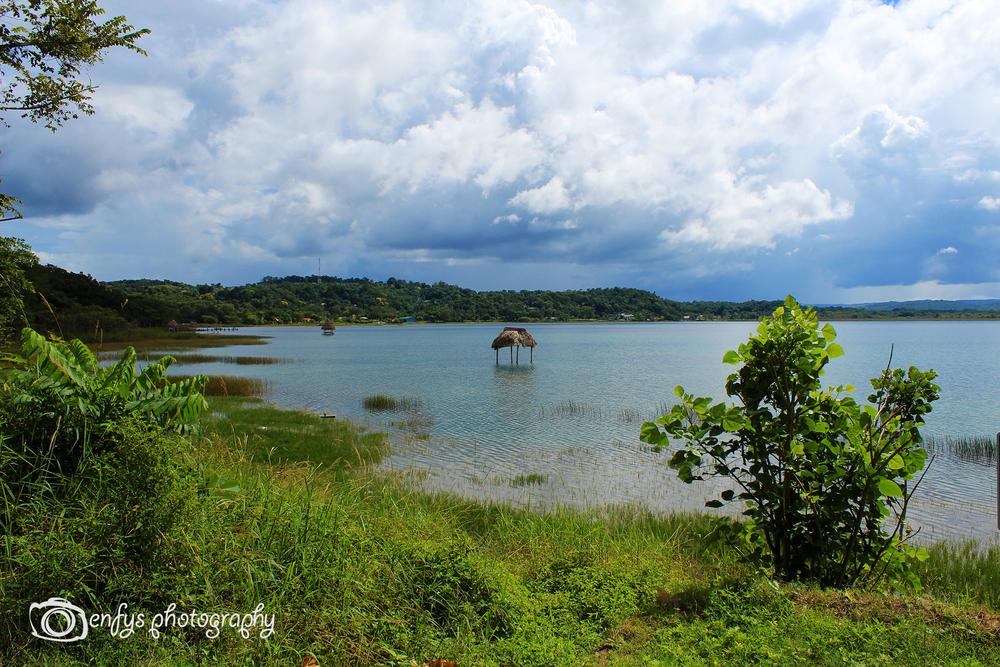 Lake Peten Itza -El Remate, Guatemala