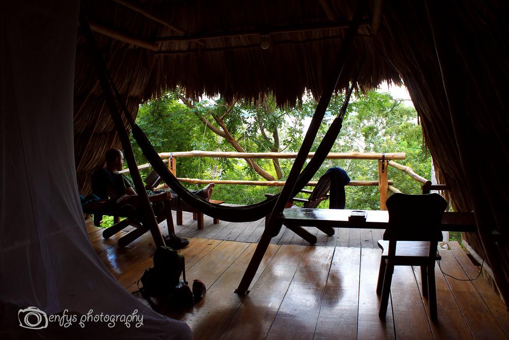 More cabin relaxin' Posada del Cerro - El Remate, Guatemala