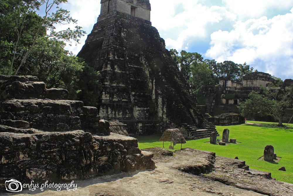 Main Plaza -Tikal National Park, Guatemala