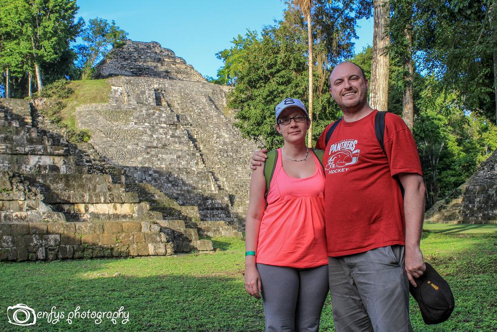 The Adventurers -Yaxha - Peten, Guatemala
