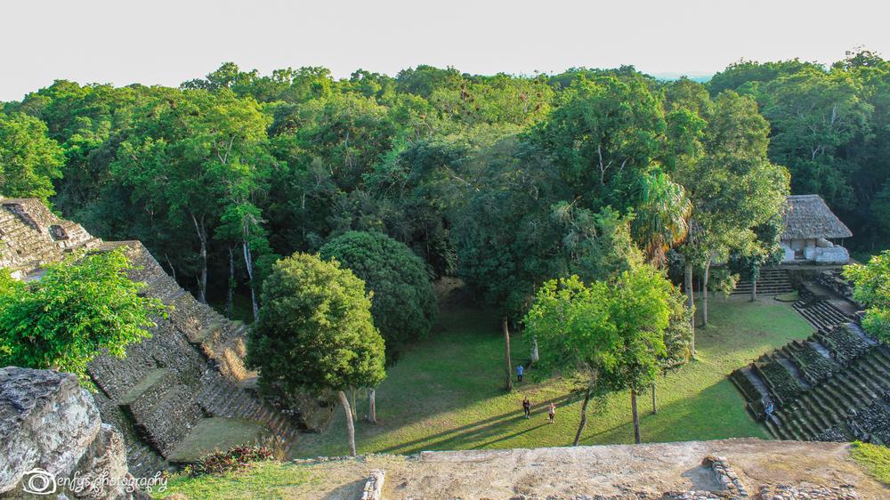 Another view -Yaxha - Peten, Guatemala