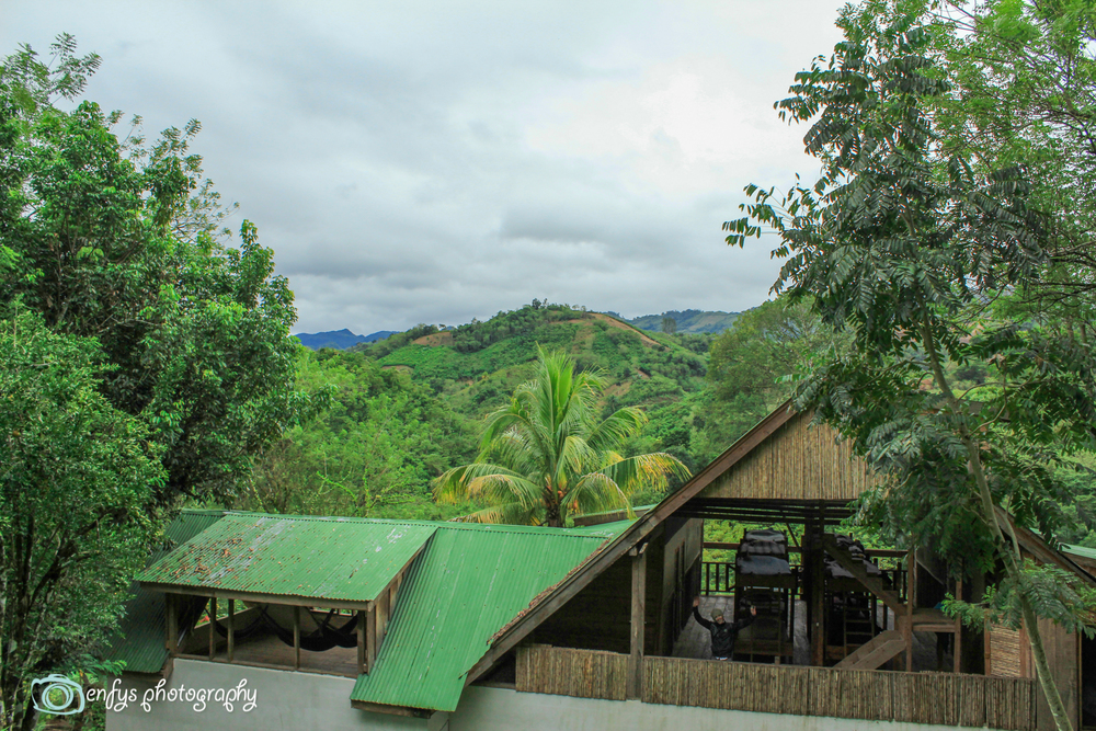 Dormitory and hammock corner  -  Utopia Eco Hotel- Alta Verapaz, Guatemala