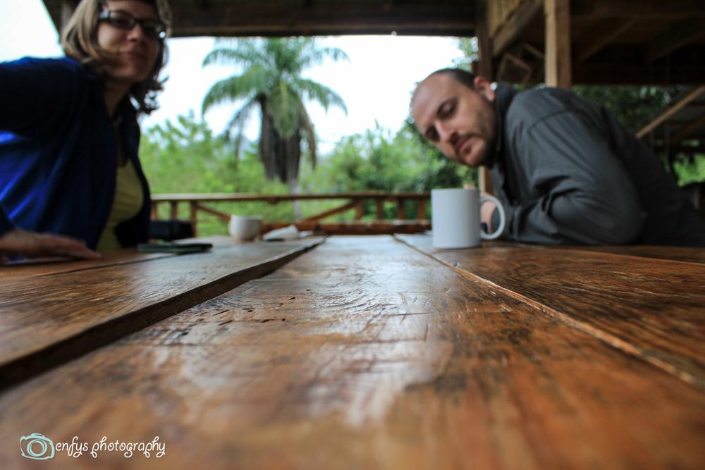 Morning coffee  -  Utopia Eco Hotel- Alta Verapaz, Guatemala