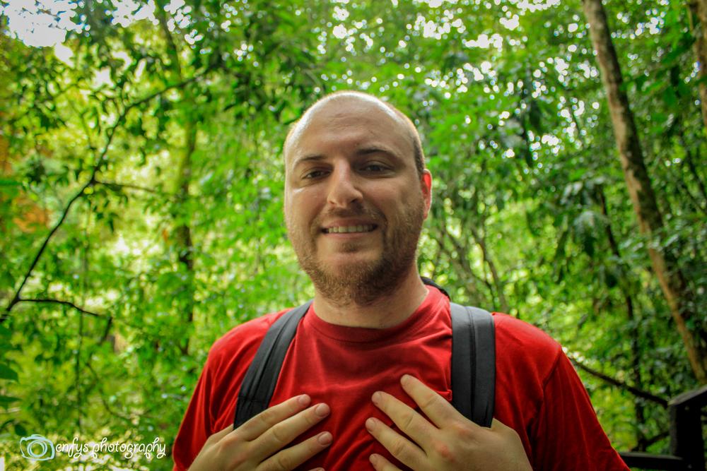 Steve  -Semuc Champey, Guatemala