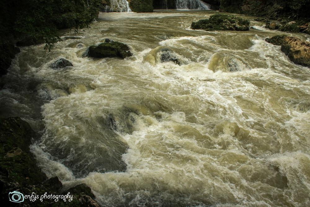 The rapids of the Cahabón River  -Semuc Champey, Guatemala