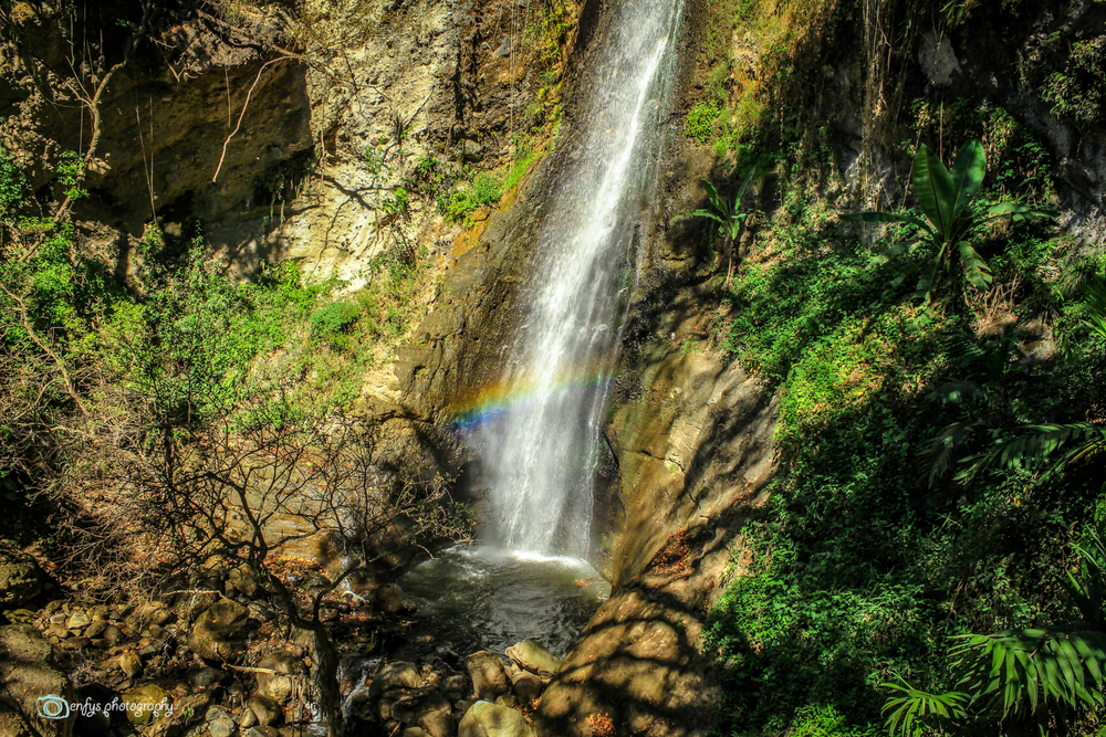 Rainbows and waterfalls -Atitlan Nature Reserve - Panajachel, Guatemala