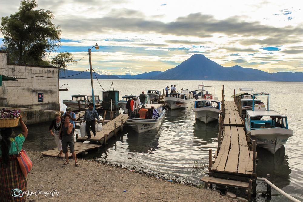 Panajachel Dock -Panajachel, Guatemala