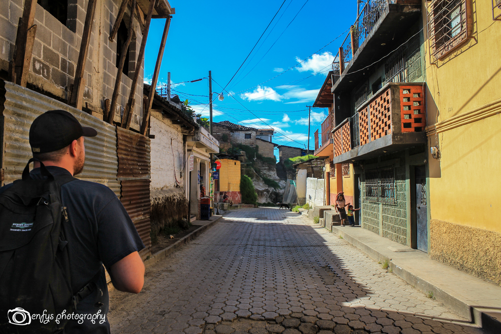 Residential street  -Chichicastenango, Guatemala