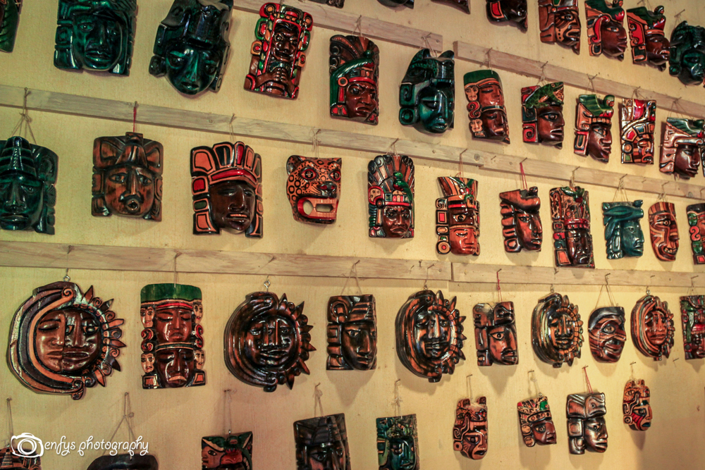 Handcrafted and painted masks -Chichicastenango, Guatemala