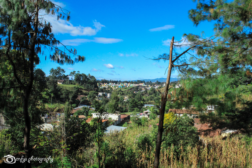 View from Pascual Abaj -Chichicastenango, Guatemala