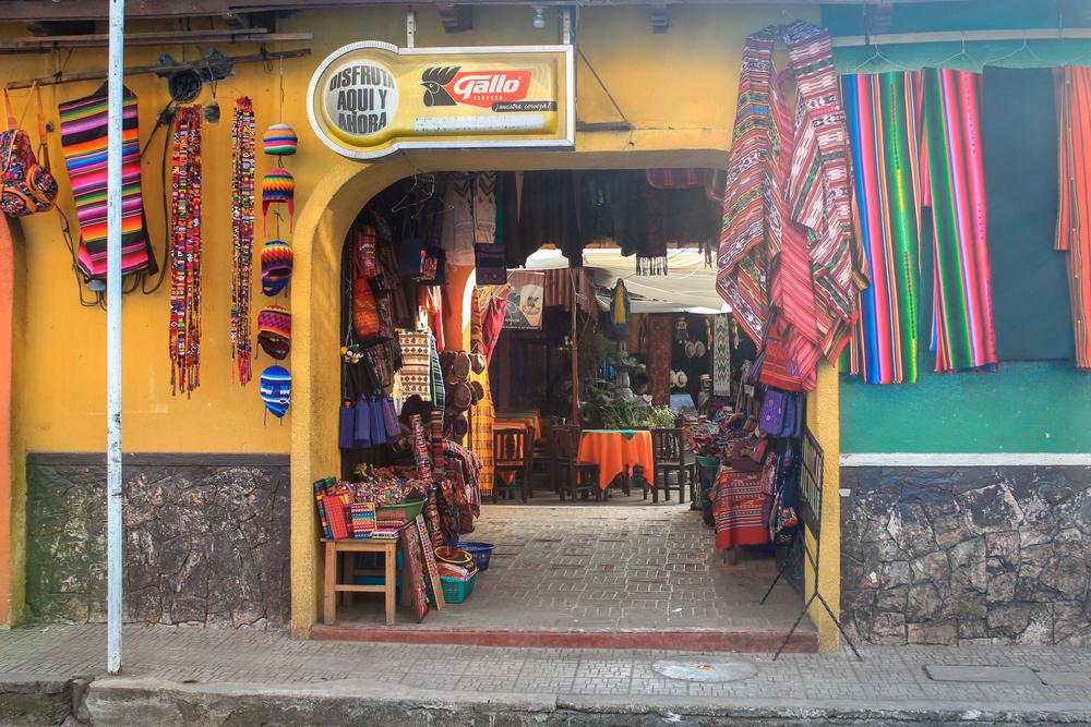 Store front -Chichicastenango, Guatemala
