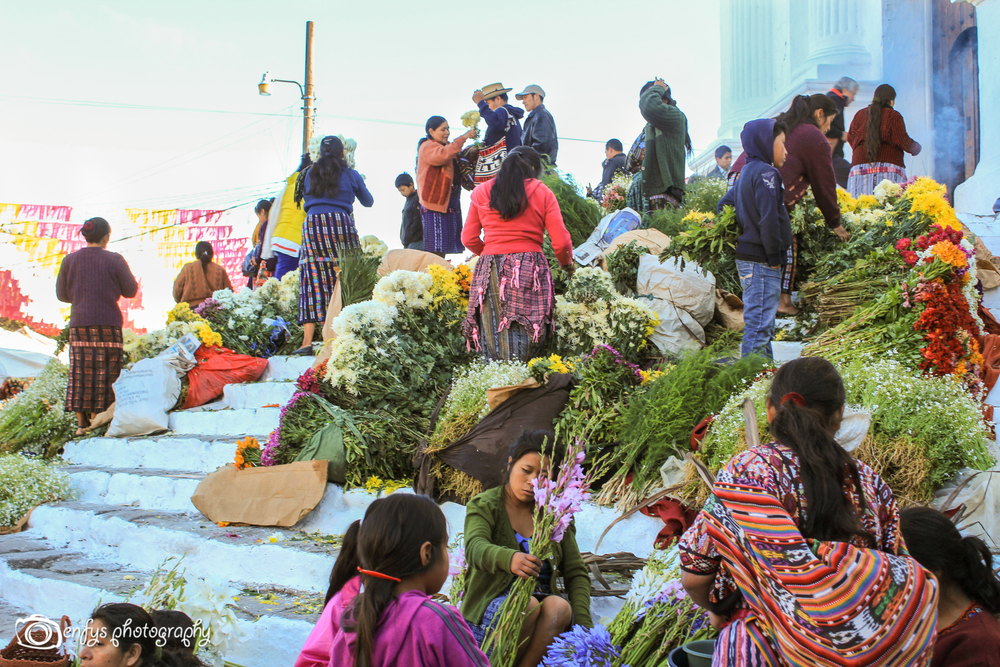 Chichi Market  -Chichicastenango, Guatemala