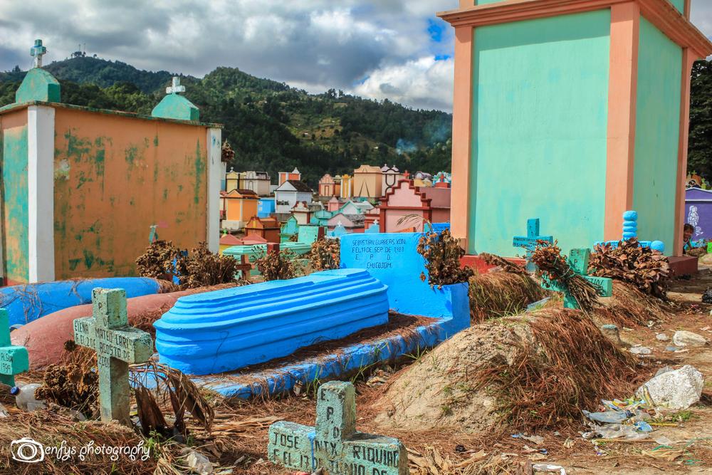 Cemetery  -Chichicastenango, GUatemalu