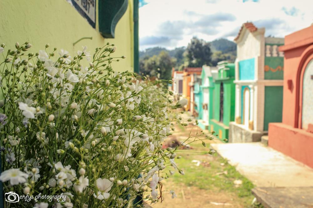 Cemetery  -Chichicastenango, Guatemala