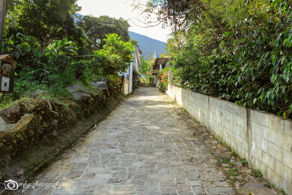 Streets on San Pedro -San Pedro La Laguna, Guatemala