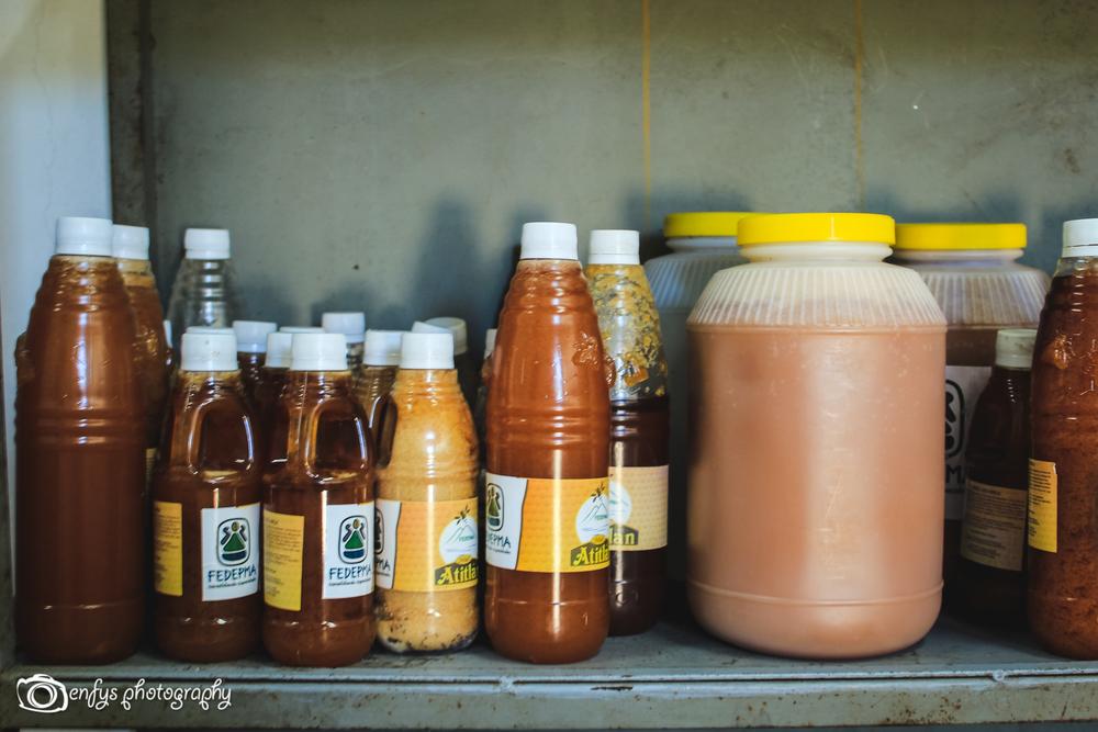 Honey -San Pedro la Laguna, Guatemala