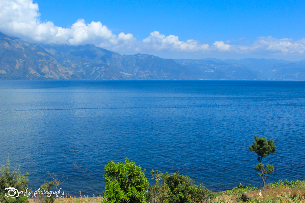 Another lovely view of Lake Atitlan -San Pedro la Laguna, Guatemala