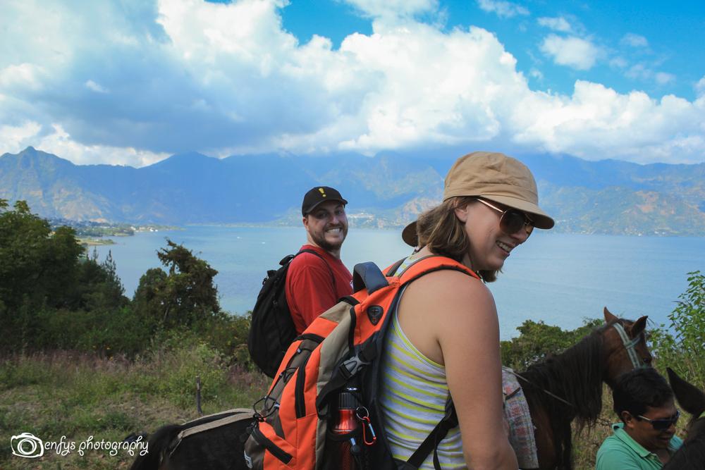 Steve & Shelley! -San Pedro la Laguna, Guatemala