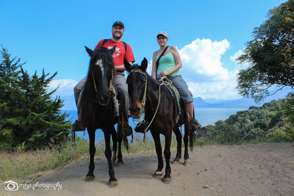 Steve & I -San Pedro la Laguna, Guatemala