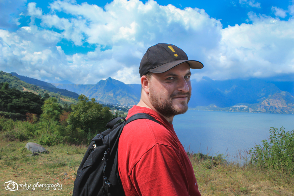 Steve -San Pedro la Laguna, Guatemala