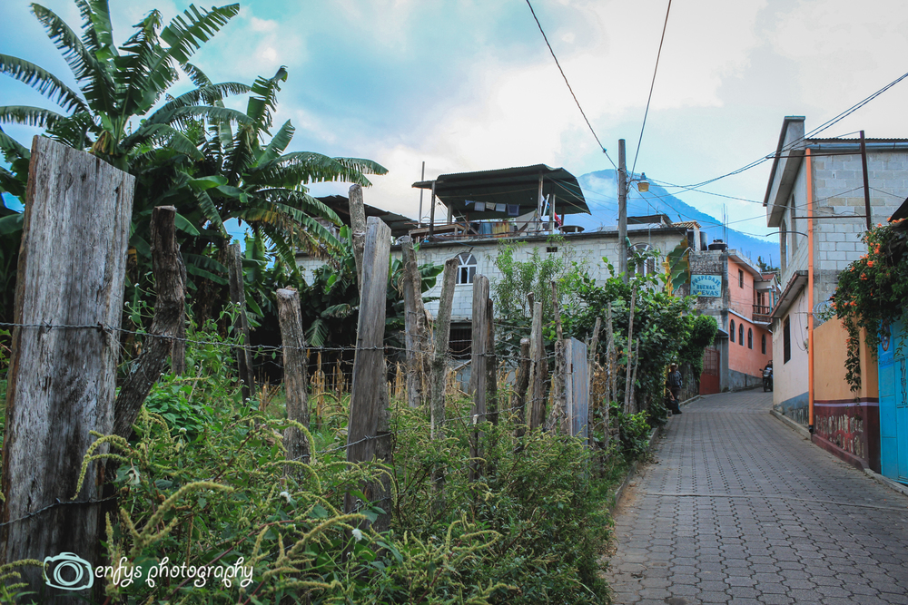 Streets of San Pedro -San Pedro la Laguna, Guatemala