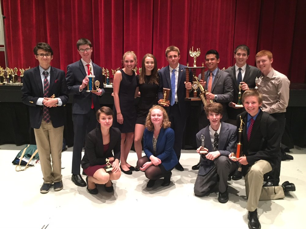 Congratulations to the following KHS students who participated in the recent debate tournament in Bangor this past Saturday. KHS also won the team sweepstakes, coming far ahead of all other schools.  Senate Joe Bergeon: 1st, Cole Cerabona: 2nd, House 1: Everett Beals: 1st, Rory Sheehan: 2nd, Nick Quigley: 4th, Ethan Leonard: 5th, House 2: Chris Nagorniak: 1st, Laszlo Toth: 4th, Julia Connolly: 5th