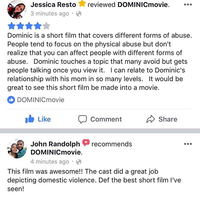 @dominicmovie NOW AVAILABLE  #shortfilm #connecticutfilms #dominicmovie #independentfilms #filmmaking #moviemaking