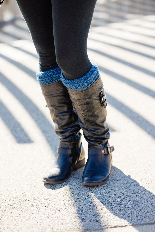 Boot Cuffs- $15