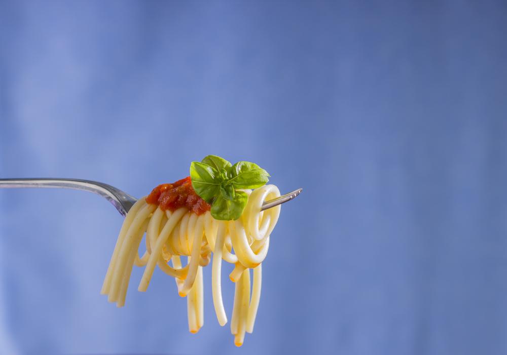 Spaghetti on Fork