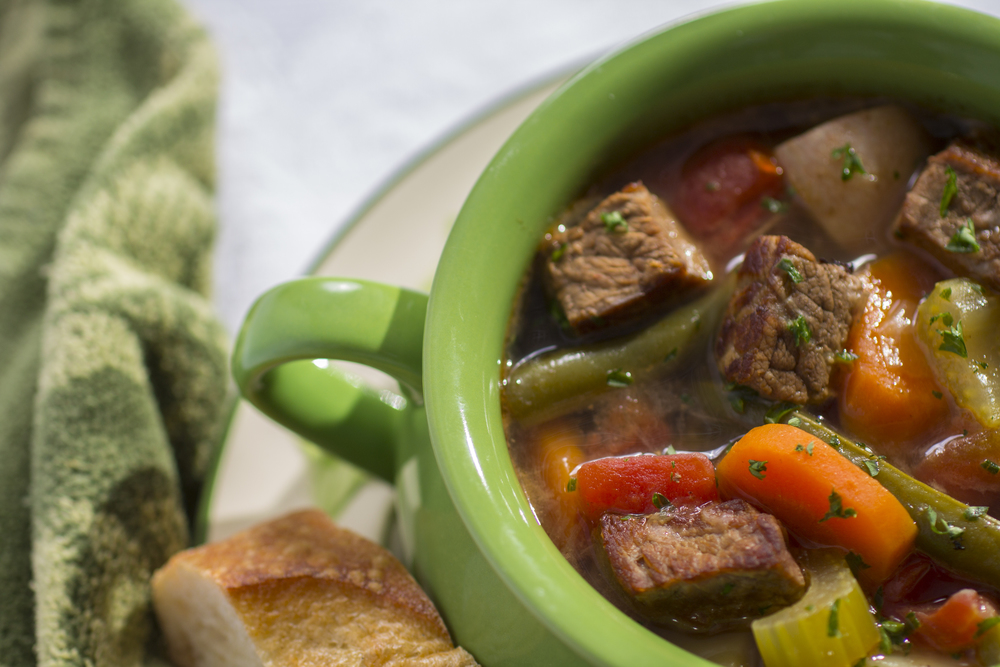 Bowl of Hearty Stew