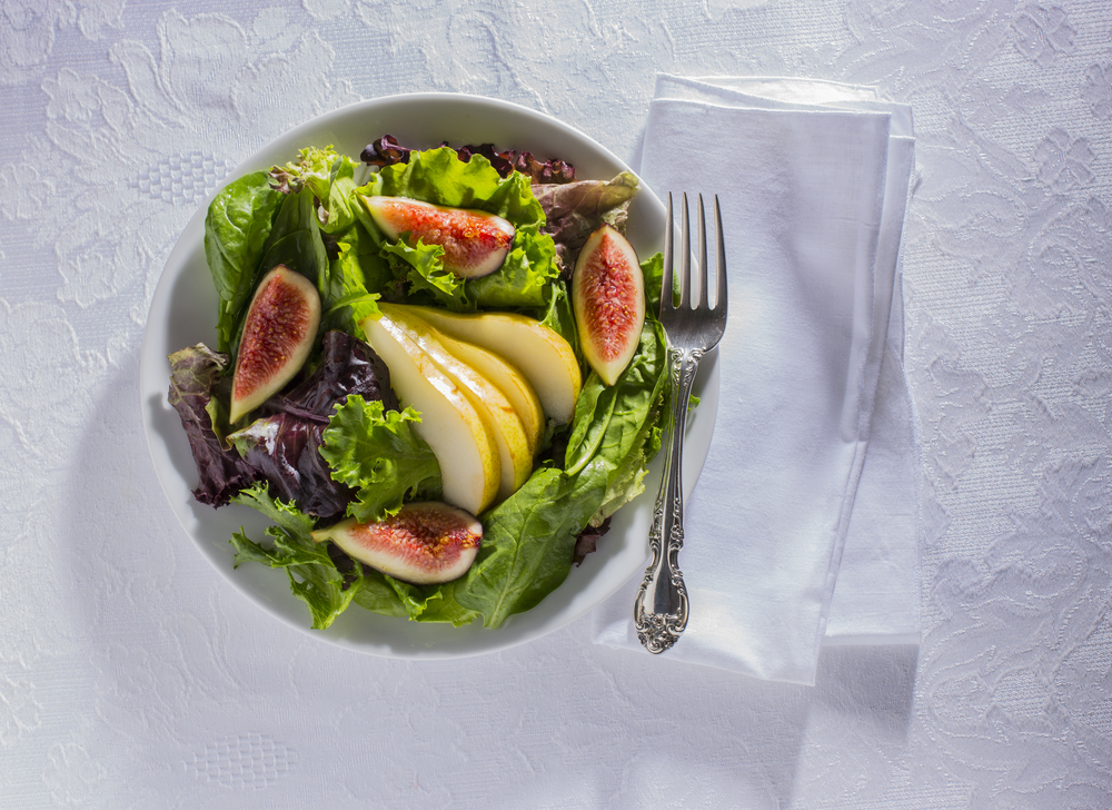 Pear and Fig Salad