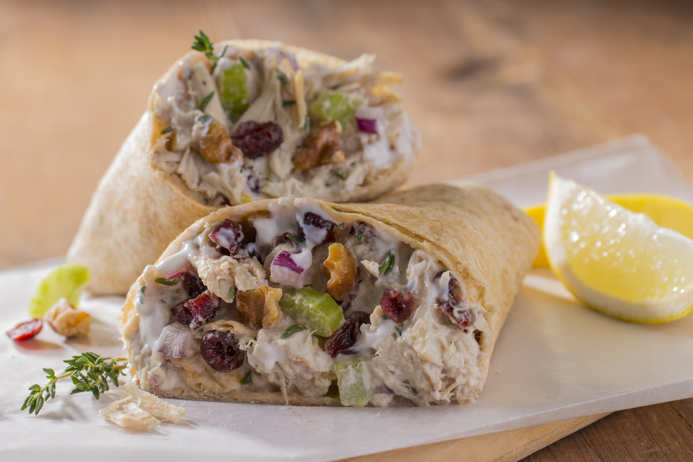 Chicken Thyme Wraps