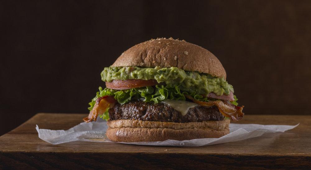 Bacon Guac Cheeseburger