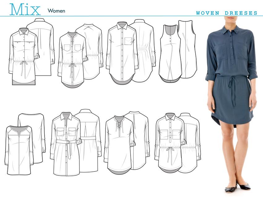 auralis wovens dresses