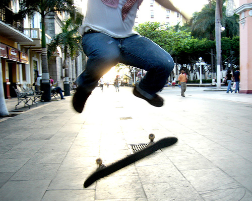 balance training for skateboarding