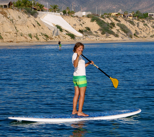 women on  sup