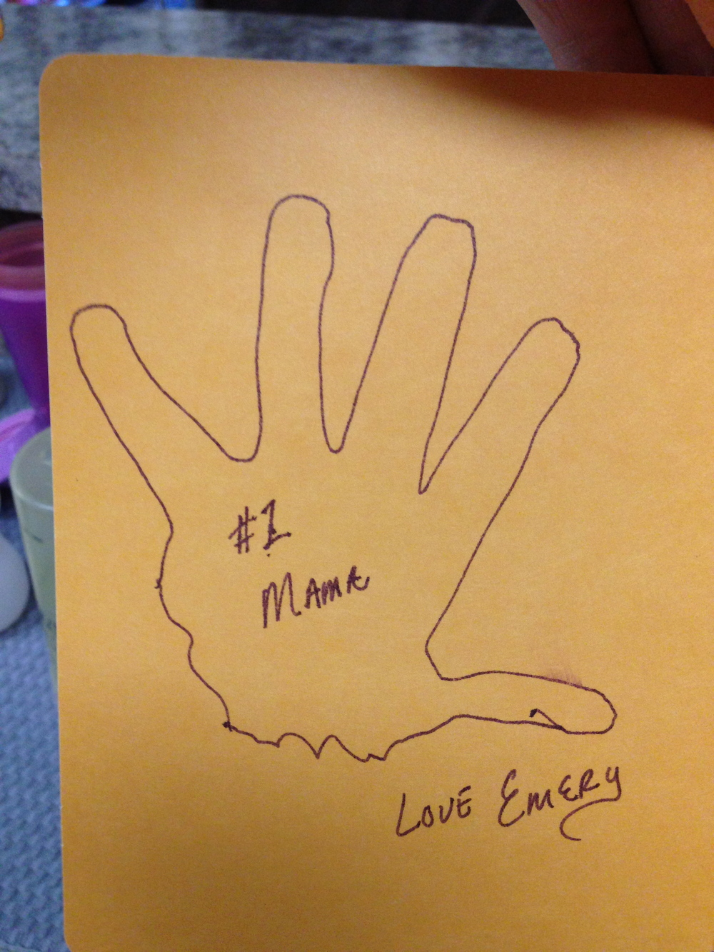 Emmy's signature.