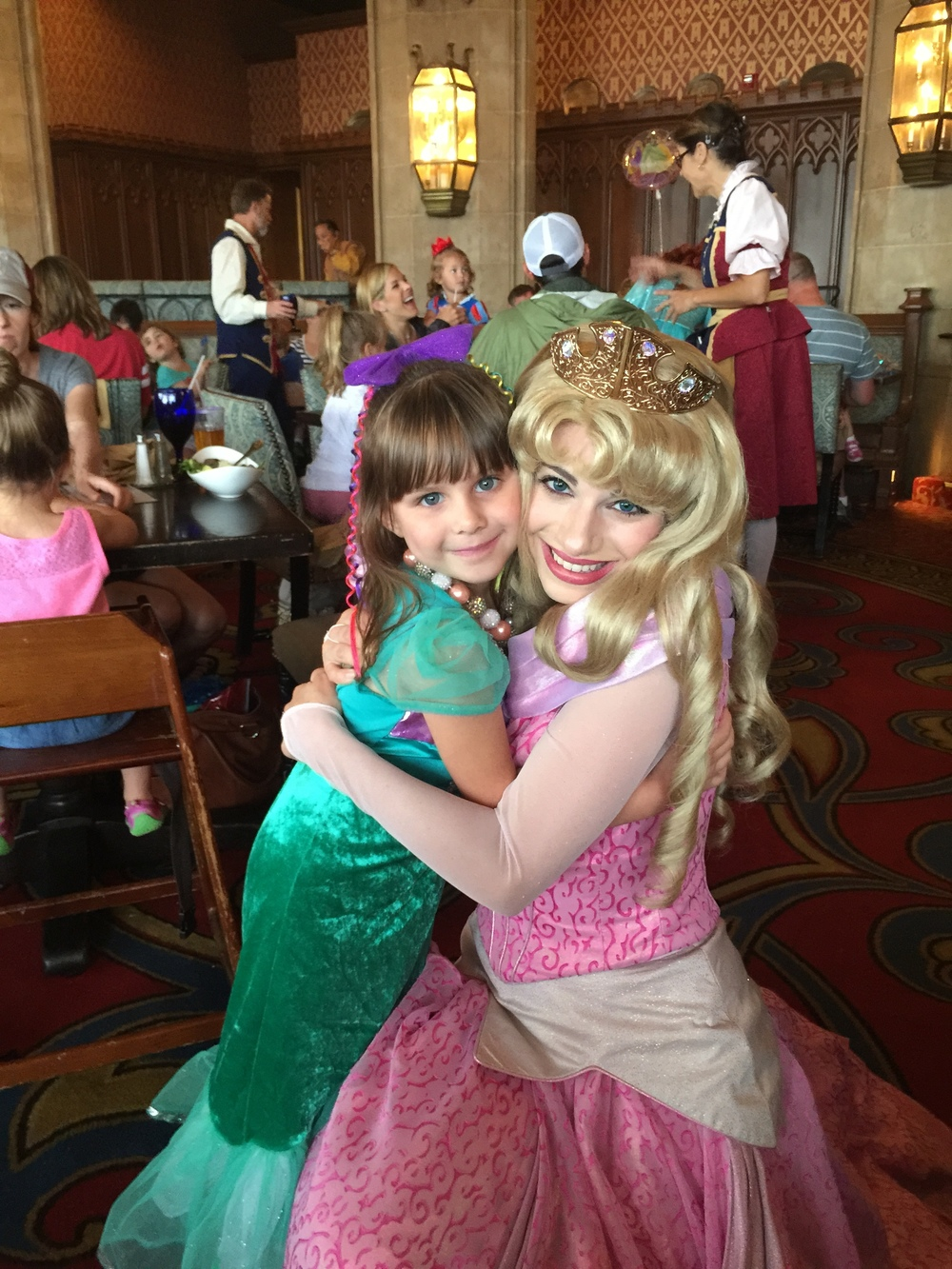 Hugs from Aurora (Sleeping Beauty)