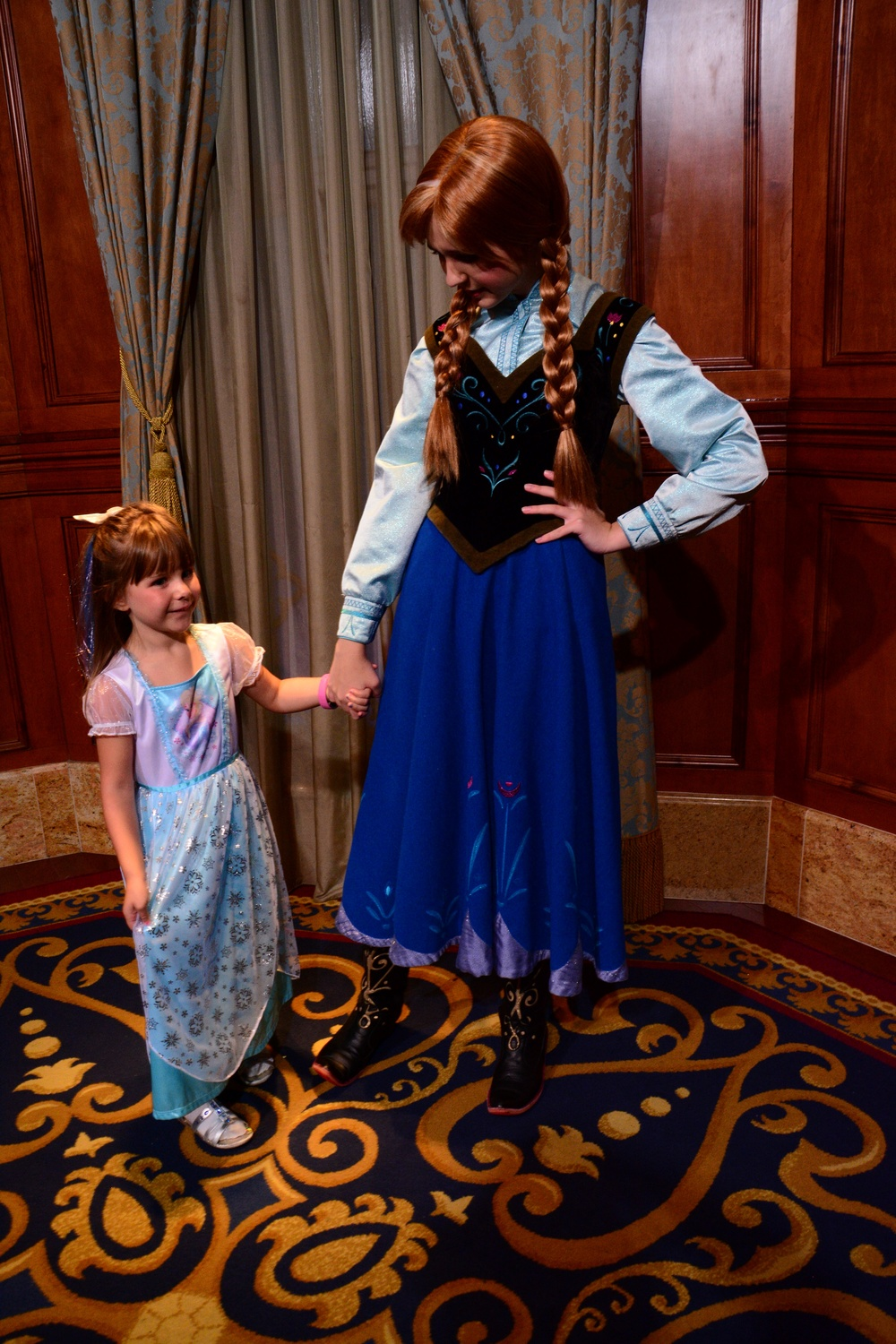 Emery meeting Princess anna
