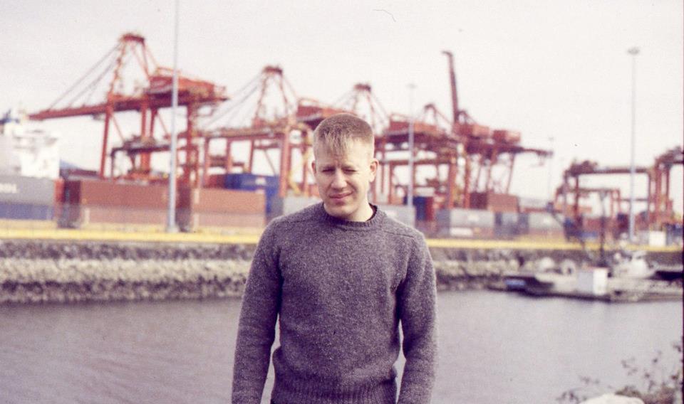 Andrew Volk; Photo by Claire Milbrath