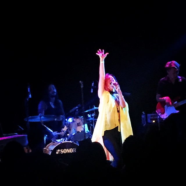 Just as always GENEVIEVE was incredible on Tuesday #lincolnhall 😍 find her music on iTunes! #showyourcolors