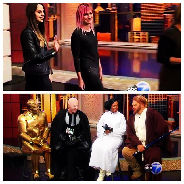 Had so much fun helping out yesterday on Windy City Live!  #windycitylive #makeupartist #sfx #mua #chicago #happyhalloween 🎃