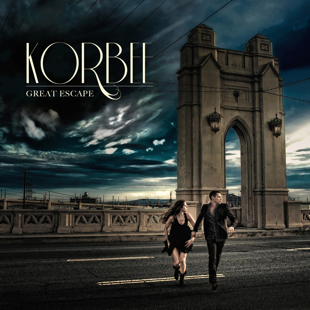 """Korbee's new EP """"Great Escape"""" is available NOW on iTunes!"""