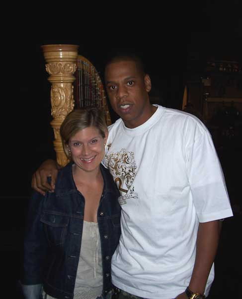 with Jay-Z