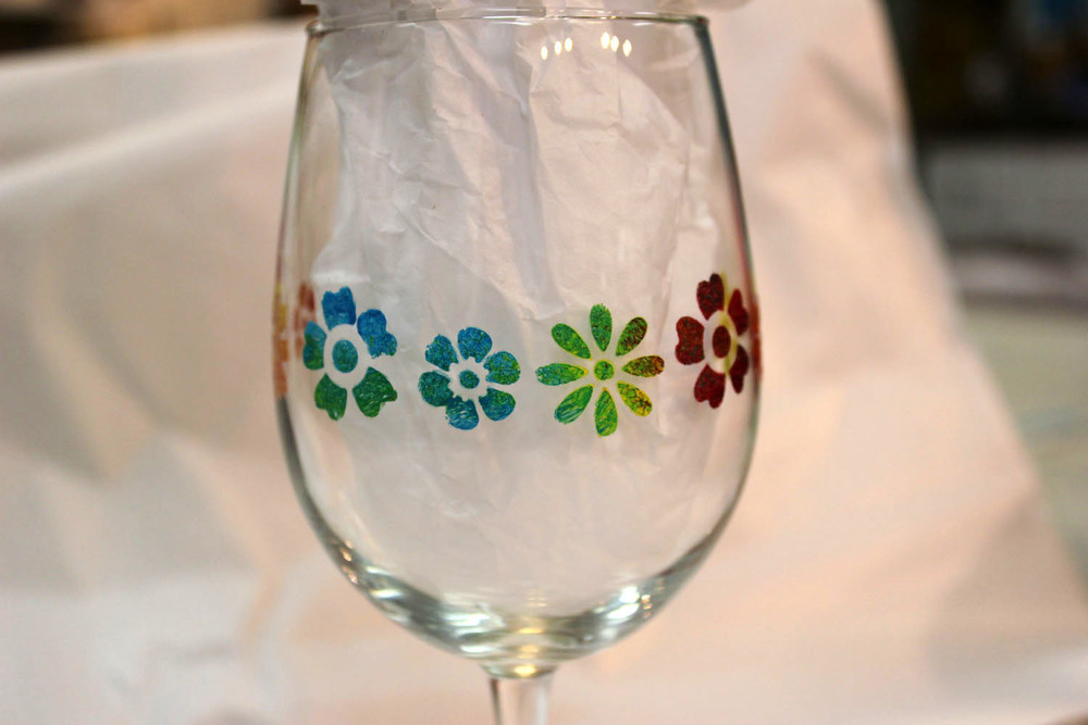 Wine glass painting parties art by tjm for What paint do you use to paint wine glasses