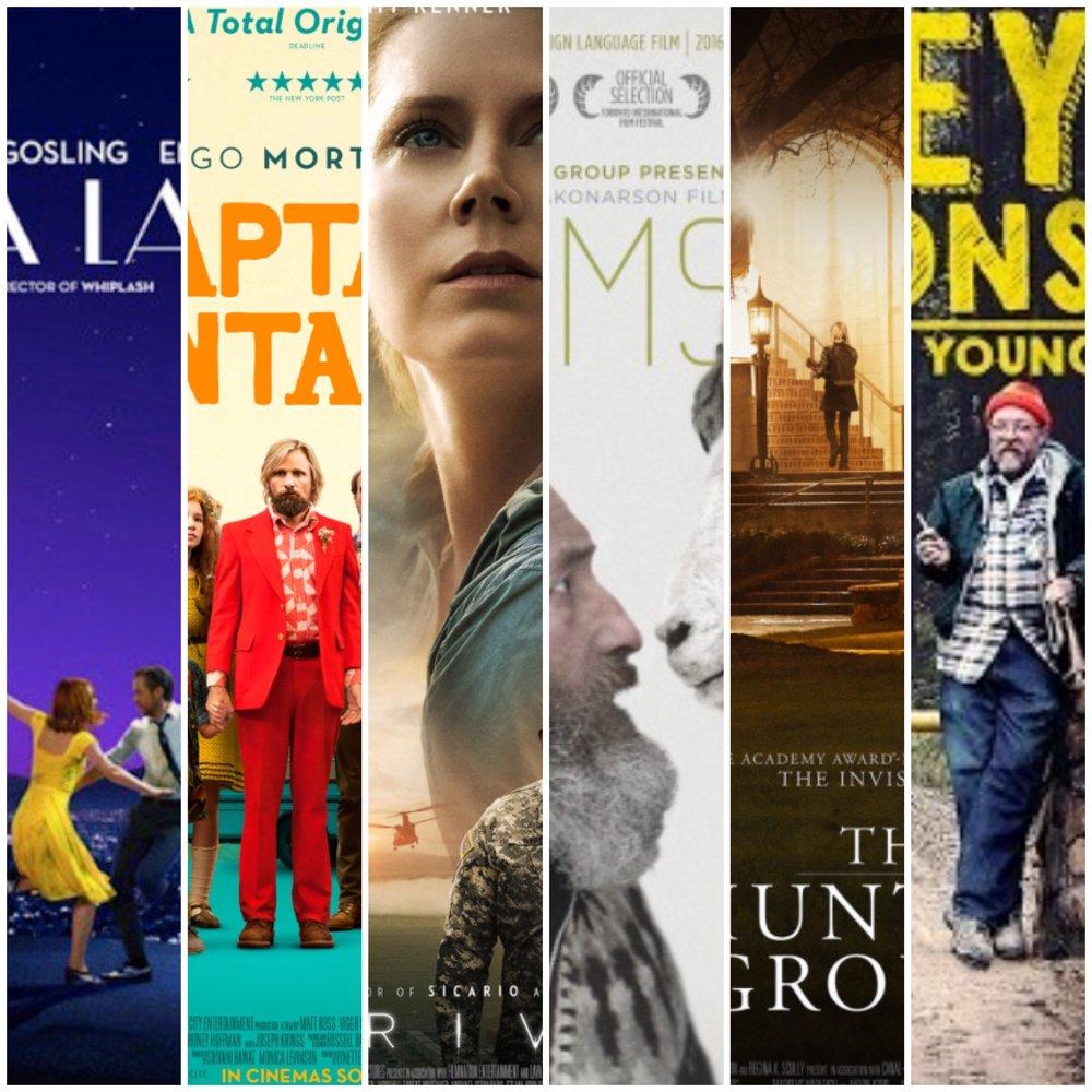 2016 Top Films