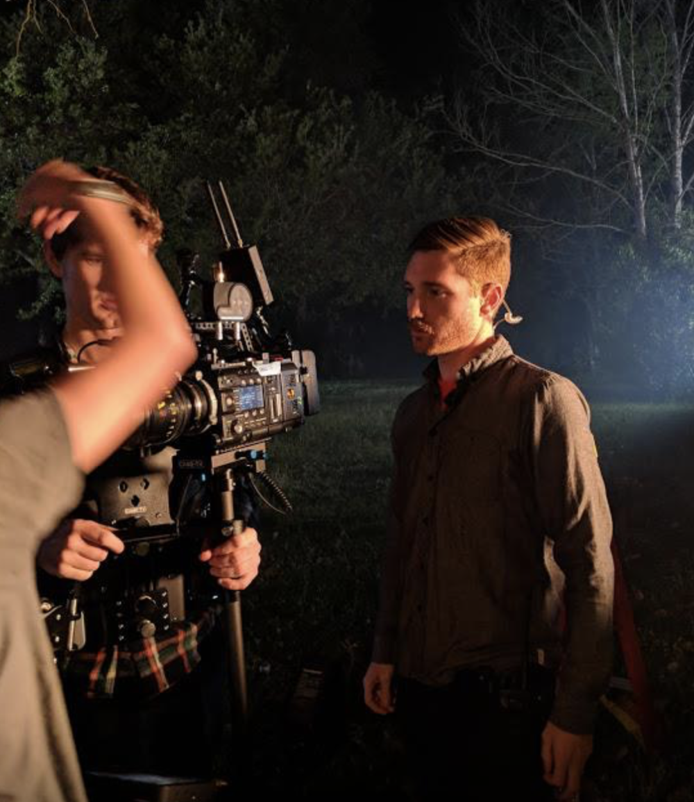 We filmed all night and got the last shot as the sun was coming up. The whole film is only 2 minutes long.