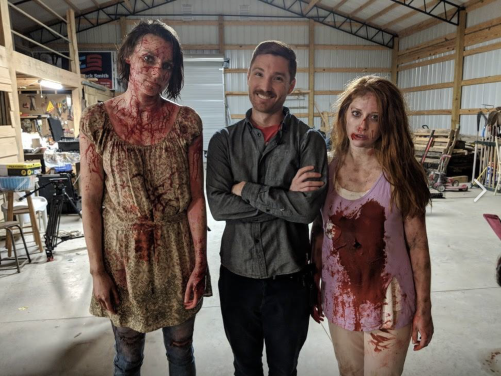 We had fun…well, most of us did. Meat Eater is coming out in film festivals in April 2019. Stay tuned for updates or for how to see it online. As always, our film updates are through the People People Media emailing list: